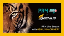 Issue 180 - GENIUS MACHINERY LIVESTREAM on PRM-TAIWAN Youtube Channel