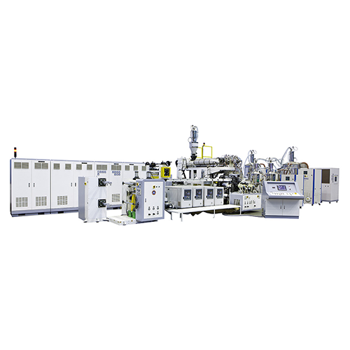 ABI Series PP PA extrusion buckle strap making machine