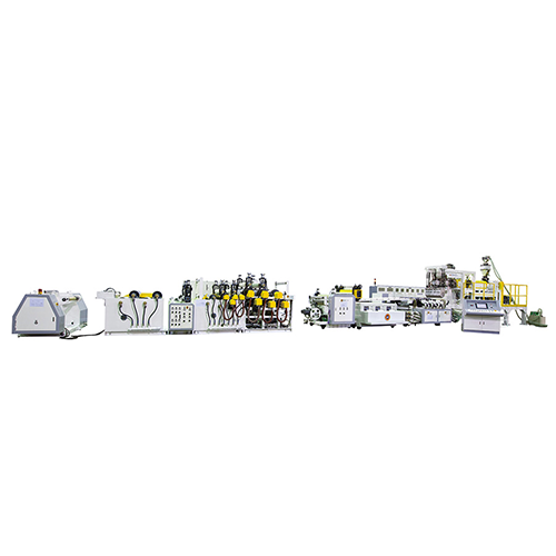 PLA extrusion sheet Extrusion machine for testing