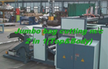 Jumbo Bag Cutting m / c 2 in(Top&Body)