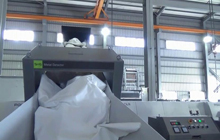Single Shaft Shredder Recycling Machine