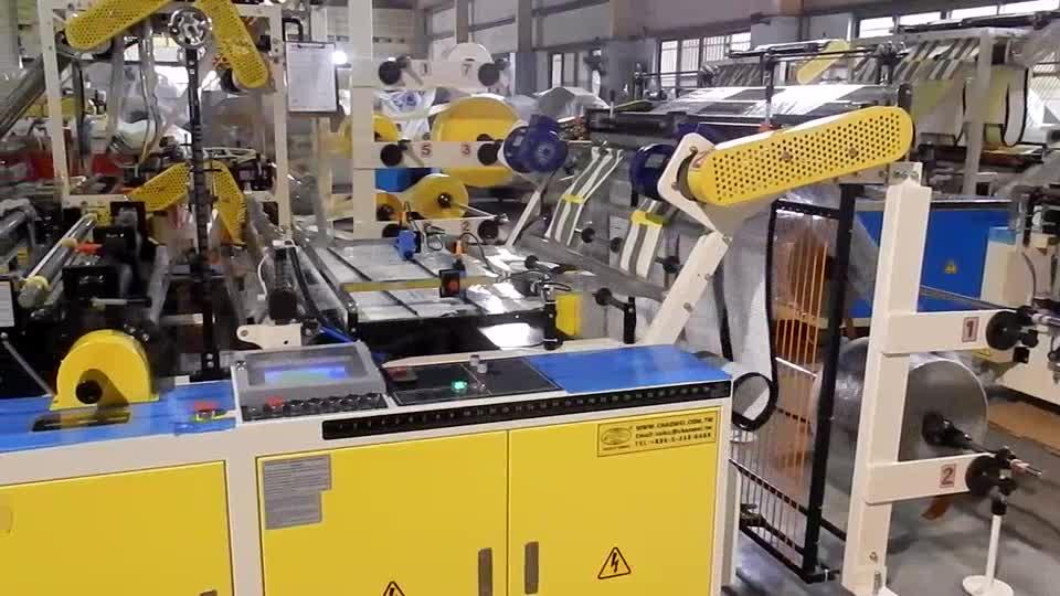 CWAA-SV High Speed Cutting & Sealing Machine with Double Servo Motors & Photo Cells